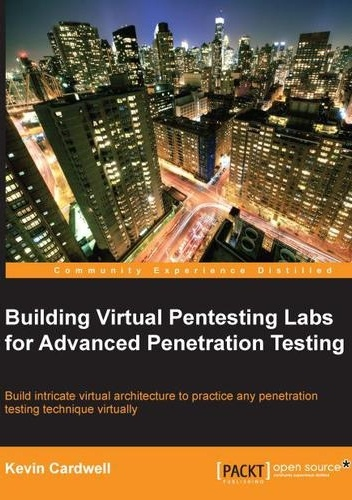 Okładka książki building virtual pentesting labs for advanced penetration testing