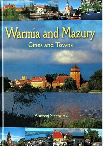 Okładka książki warmia and mazury. cities and towns