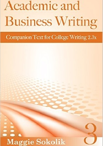 Okladka ksiazki academic and business writing workbook 3