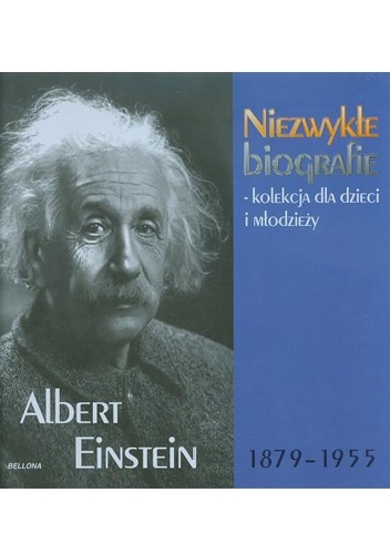 Okladka ksiazki albert einstein 1879 1955