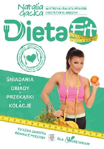 Okladka ksiazki dieta fit