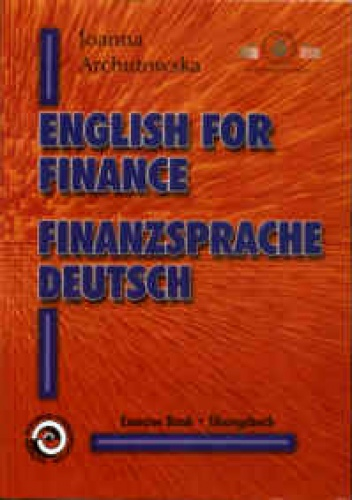 Okladka ksiazki english for finance finanzsprache deutsch