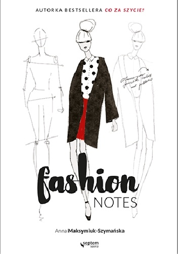 Okladka ksiazki fashion notes