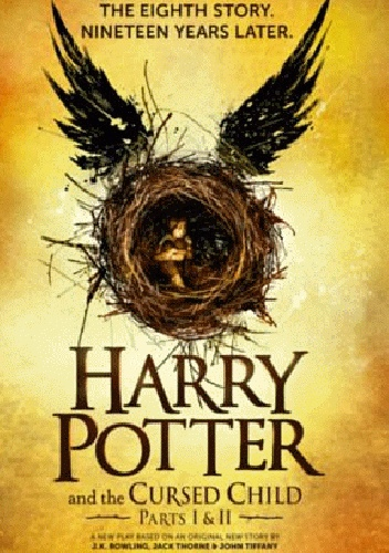 Okladka ksiazki harry potter and the cursed child