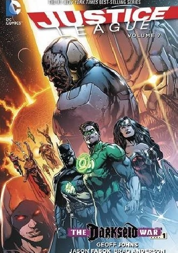 Okladka ksiazki justice league vol 7 darkseid war part 1