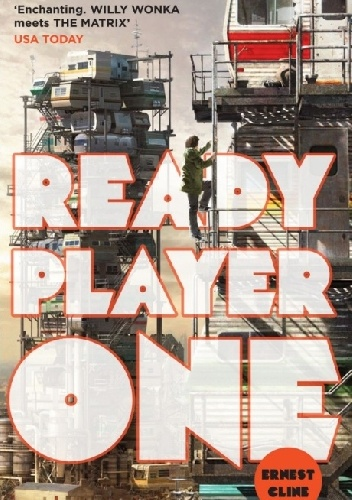 Okladka ksiazki ready player one