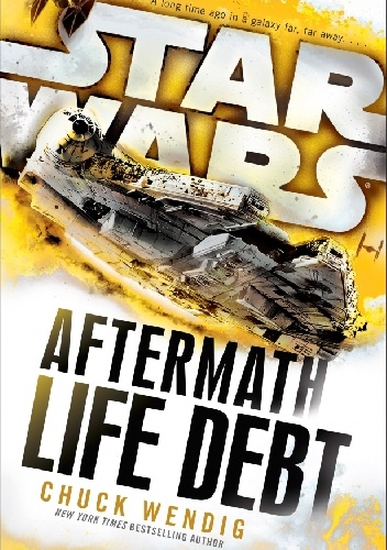 Okladka ksiazki star wars aftermath life debt