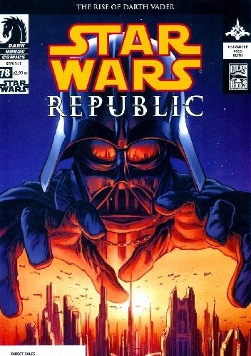Okladka ksiazki star wars republic 78