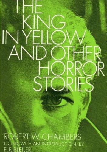 Okladka ksiazki the king in yellow and other horror stories