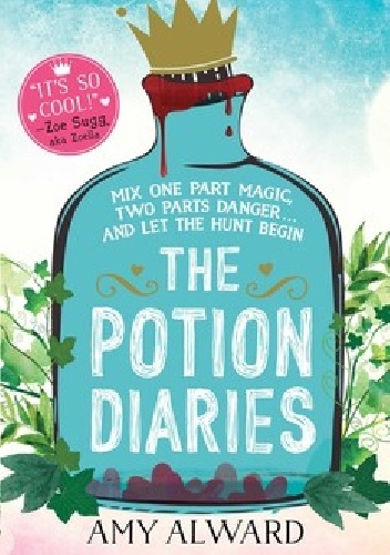 Okladka ksiazki the potion diaries