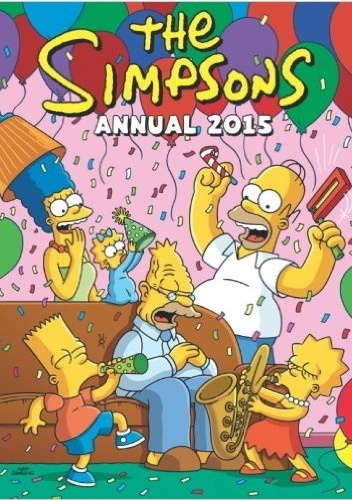 Okladka ksiazki the simpsons annual 2015
