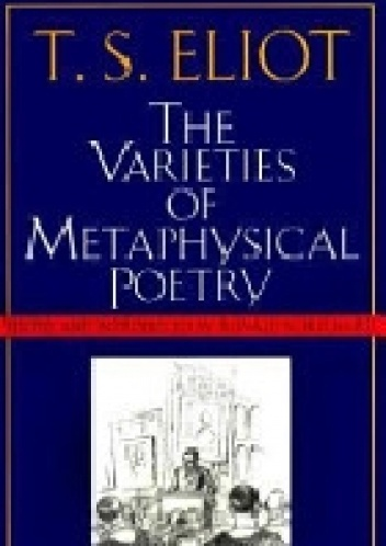 Okladka ksiazki the varieties of metaphysical poetry
