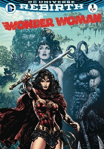 Okladka ksiazki wonder woman 1